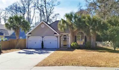 North Myrtle Beach Single Family Home Active-Hold-Don't Show: 1107 27th Avenue South
