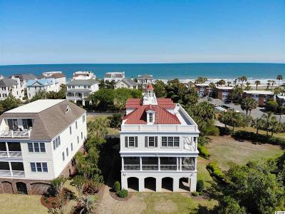 Pawleys Island Single Family Home For Sale: 128 Sea Oats Circle