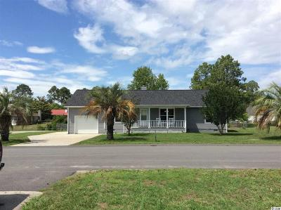 Myrtle Beach Single Family Home For Sale: 609 Six Lakes Dr