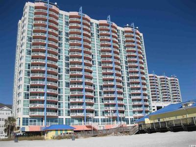 North Myrtle Beach Condo/Townhouse For Sale: 3500 N Ocean Blvd. #704