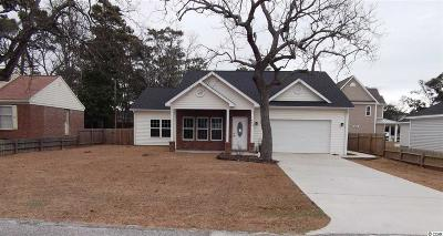 North Myrtle Beach Single Family Home For Sale: 602 13th Ave South