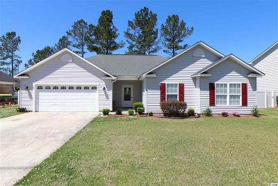 Conway Single Family Home For Sale: 2609 Warm Springs Lane