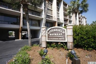 Pawleys Island Condo/Townhouse For Sale: 325 Litchfield Retreat #325
