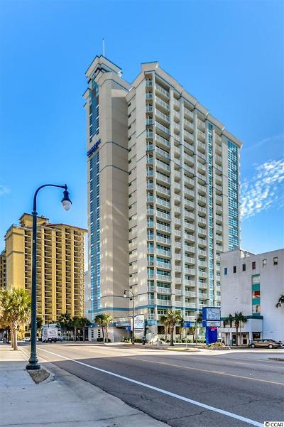 Myrtle Beach Condo/Townhouse For Sale: 2504 N Ocean Blvd #2130