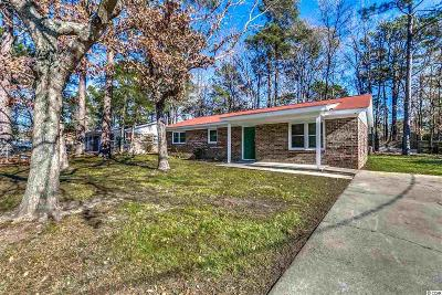 Myrtle Beach SC Single Family Home For Sale: $145,000
