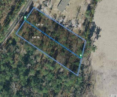 Horry County Residential Lots & Land For Sale: Lot 3 Vaught Road