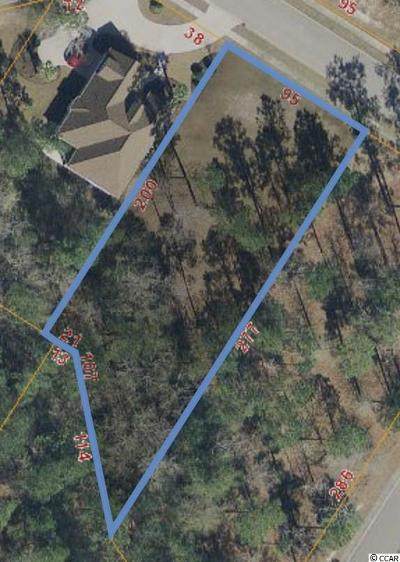 Myrtle Beach Residential Lots & Land For Sale: Tbd McSweeney Ct.