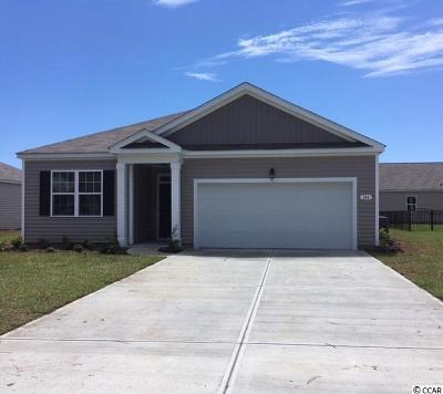 Myrtle Beach Single Family Home Active-Pending Sale - Cash Ter: 144 Harmony Lane