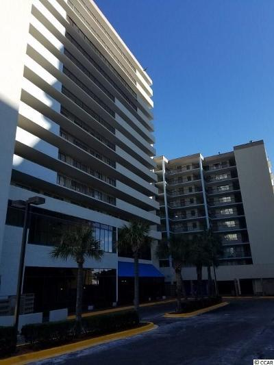 Myrtle Beach Condo/Townhouse For Sale: 2001 S Ocean Blvd #814