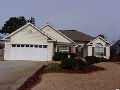 Myrtle Beach Single Family Home For Sale: 3916 Glenmere Drive