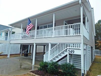 Garden City Beach SC Single Family Home Sold: $329,000