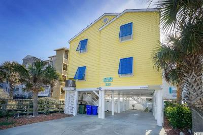 Surfside Beach Single Family Home For Sale: 1019a N Ocean Blvd.