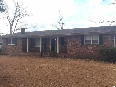Loris Single Family Home For Sale: 430 Red Bluff Rd