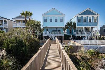 Surfside Beach Single Family Home For Sale: 715b S Ocean Blvd.