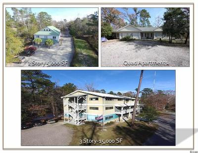 Murrells Inlet Single Family Home For Sale: 11655 Highway 707 #1st Floo