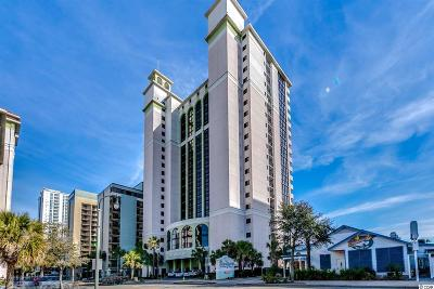 Myrtle Beach Condo/Townhouse For Sale: 2006 N Ocean Blvd. #1170