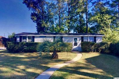 North Myrtle Beach Single Family Home Active-Pending Sale - Cash Ter: 1104 Whispering Cove