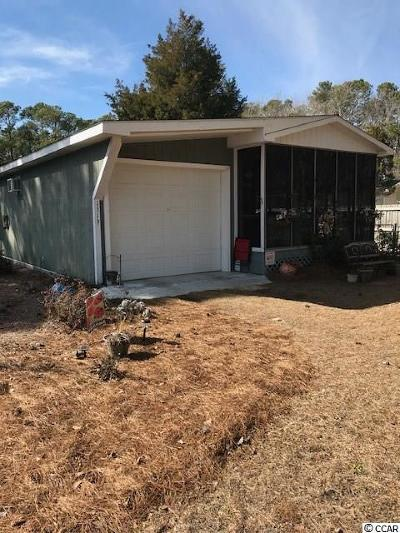 North Myrtle Beach Single Family Home Active-Pending Sale - Cash Ter: 1319 Seagull Blvd