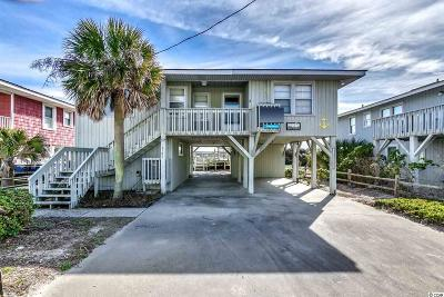 North Myrtle Beach Single Family Home For Sale: 3702 N Ocean Blvd.