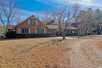Loris Single Family Home For Sale: 374 N Cox Rd.