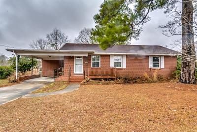 Loris Single Family Home For Sale: 3605 Spivey Street
