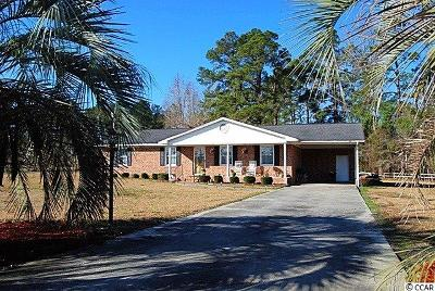 Loris Single Family Home For Sale: 1010 S Branch Rd.