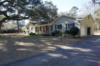 Georgetown Single Family Home For Sale: 120 Tradd Rd.