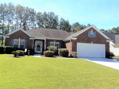 Murrells Inlet Single Family Home Active-Pending Sale - Cash Ter: 6420 Longwood Drive