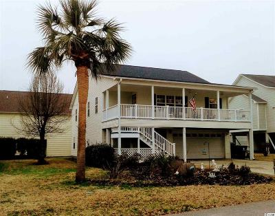 Garden City Beach Single Family Home Active-Pend. Contingent Contra: 510 Bay Drive Extention