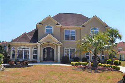 Myrtle Beach Single Family Home For Sale: 801 Bluffview Drive