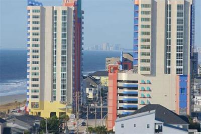 North Myrtle Beach Condo/Townhouse For Sale: 3500 N Ocean Blvd. #1401