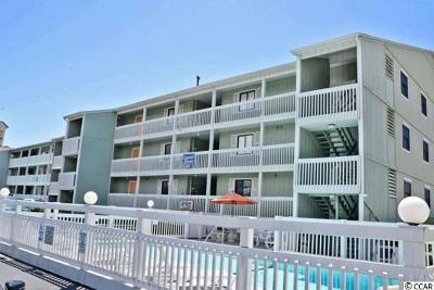 North Myrtle Beach Condo/Townhouse For Sale: 807 S Ocean Blvd #D3