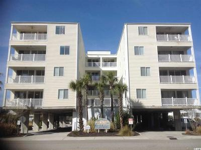 North Myrtle Beach Condo/Townhouse For Sale: 4604 S Ocean Boulevard #1A