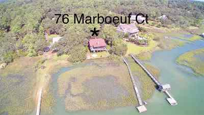Pawleys Island Single Family Home For Sale: 76 Marboeuf Ct