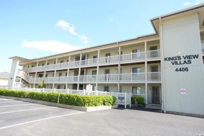 North Myrtle Beach Condo/Townhouse For Sale: 4406 N Ocean Blvd #A1