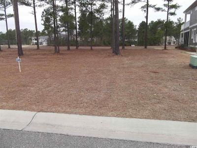 Georgetown County, Horry County Residential Lots & Land For Sale: 1127 Fiddleway Way