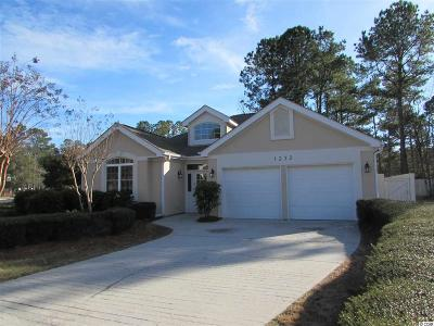 North Myrtle Beach Single Family Home For Sale: 1232 Trisail Ln