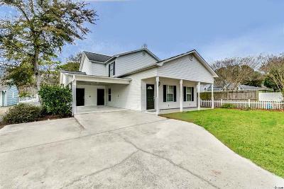 North Myrtle Beach Single Family Home For Sale: 2004 Hillside Drive South