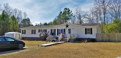 Loris SC Single Family Home Active-Pend. Contingent Contra: $60,000