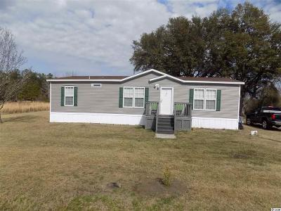 Loris SC Single Family Home For Sale: $107,900