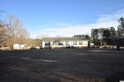 Loris SC Single Family Home For Sale: $140,000