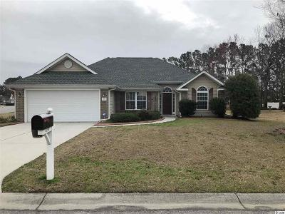 Myrtle Beach Single Family Home Active-Pending Sale - Cash Ter: 4099 Steeple Chase Dr.