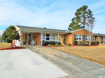 Horry County Condo/Townhouse For Sale: 761 Sycamore Avenue #761