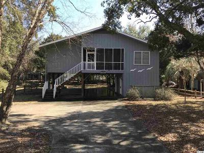 Pawleys Island Single Family Home For Sale: 50 Bobcat Drive