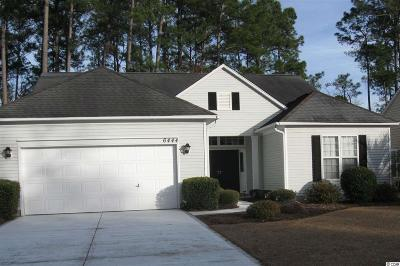 Murrells Inlet Single Family Home For Sale: 6444 Somersby Drive