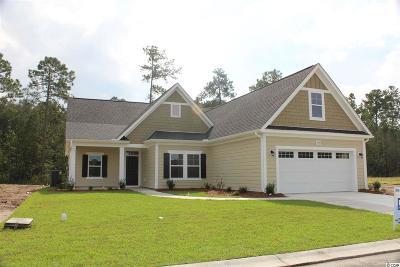 Myrtle Beach, North Myrtle Beach Single Family Home Active-Pending Sale - Cash Ter: Tbd Swansong Circle