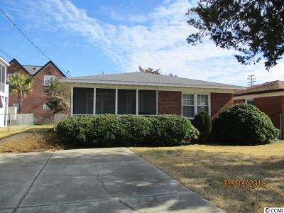 North Myrtle Beach Single Family Home For Sale: 306 N 23rd Ave