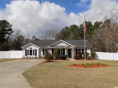 Conway SC Single Family Home Active-Pend. Cntgt. On Financi: $174,900