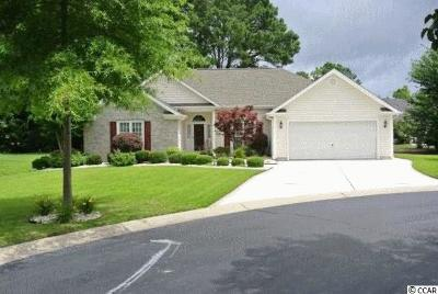 Murrells Inlet SC Single Family Home Sold: $235,000