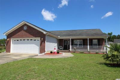 Conway SC Single Family Home For Sale: $170,000